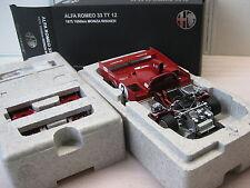 AUTOART ALFA ROMEO 33TT12 #2  MONZA 1975 1:18 NEU