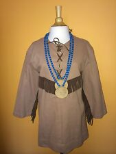 Vintage Indian Tribal Handmade Costume One Size