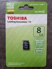 Carte Mémoire 8 Go Gb Micro SDHC TOSHIBA - Existe en 4 16 32 ou 64 Go Gb Giga