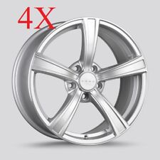 Drag Wheels DR-72 17X8 5/114 Silver Rims For Camry Corolla Rav4 Sienna Optima