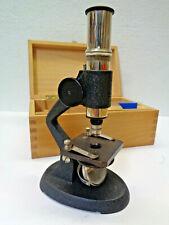 ESCH Mikroskop in Holzbox