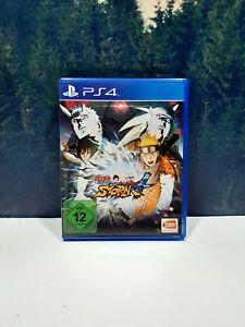 Naruto Shippuden: Ultimate Ninja Storm 4 Sony PlayStation PS4 Game Region 2 PAL