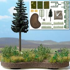 Wilderness Diorama Kit - HO Model Train Scenery or SCHOOL PROJECT Base Included