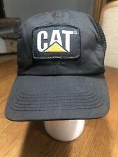 Vintage CAT Trucker Patch Hat Snapback