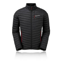 Montane Mens Icarus Micro Jacket Top Black Sports Outdoors Full Zip Warm Water