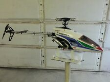 RC Nitro Helicopter**Vintage Kyosho Concept 30 SR-X ** Ready toFly See Video**