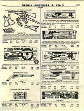 1982 ADVERT Parris Toy Rifles Trainer Rifle Western Smoker Daisy Air BB Guns