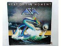 "ASIA - HEAT OF THE MOMENT - SINGLE 7"" - ESPAÑA - 1982 - (EX/NM - EX/NM)"