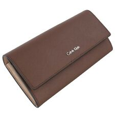 Calvin Klein Sofie Large Trifold Purse - Taupe LADIES WALLET