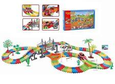Flexible Variable Track Set 154/257 Children Kids Car Racing Game Light Battery