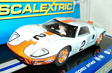 Scalextric C3325 Ford GT40  Gulf Oil  2012 USA Exclusive 1/32 Slot car