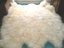 peau de mouton tapis / D'agneau XXL Fourrure pour cheminée Eco CADEAU