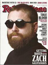 Zach Galifianakis Rolling Stone Jun 2011 Bon Iver True Blood Keith Olbermann U2