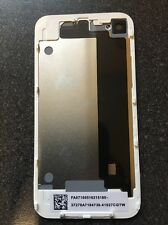 White iPhone 4G (GSM) Replacement Rear Glass Back Cover Battery Door for A1332 -