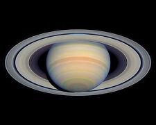 Saturn &  Rings astronomy NASA Hubble telescope picture print & FREE BONUS PHOTO