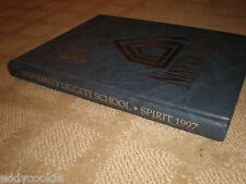 University Liggett School 1997 Spirit Yearbook Grosse Pointe Michigan  Hardcover