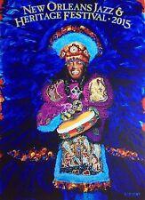 "2015 New Orleans Jazz Festival Postcard by Randy ""Frenchy"" Frechette"
