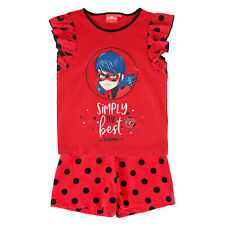 New Textiel Trade Girl's Miraculous Simply the Best Polka Dot Pajama Short Set