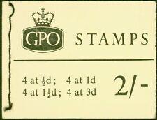 Gb 1965 April 2s Wilding Booklet Sgn20p Phosphor Fine & Complete