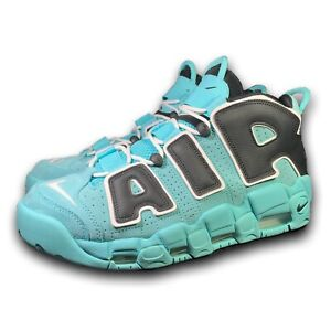 Nike Air More Uptempo '96 Qs Aqua Blue Black White CN8118-400 Size 11.5 Pippen