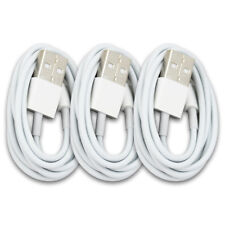 3x USB Data Sync Charge Charger Cable Cord For iPhone X 10 7 iPhone 8 6 6s Plus