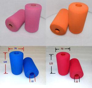 2PCS Sponge Foam Rubber Handle Grips Pipe Tube Sleeve Wrap for Fitness Equipment