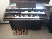 PIANOLA PIANO ORGANO SIEL HB 310 CONSOLLE NOCE DUE TASTIERE ANNI '70