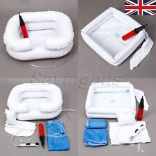 For Disabled Elderly Inflatable Bed Shampoo Hair Washing Basin Foldable