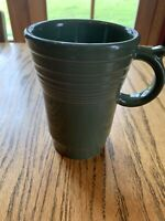 New Fiesta Ware Jumbo Bistro Latte Cappuccino Ring Handled Mug Sage Green