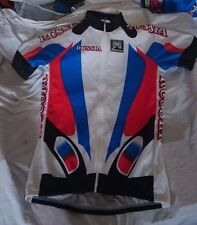 Vintage NWT SMS Santini Bicycling Jersey RUSSIA RARE Large Make offer!!!!
