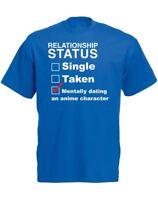 Mentally Dating An Anime Character, Mens Printed T-Shirt
