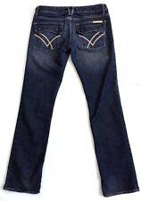 WILLIAM RAST BELLE FLARE Flap Pocket Blue Jeans Stretch Women's Sz 27 x 32