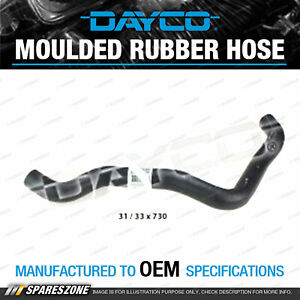 Dayco Lower Radiator Hose for Mazda BT50 UP UR 3.2L 5 cyl DOHC 20V 2011-On