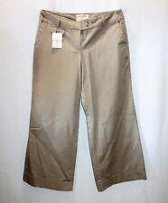 LONDON JEANS Brand Beige Wide Leg Pants Size 12 BNWT #SS57