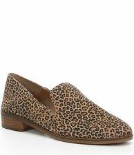 Lucky Brand Womens Cahill Leopard Print Block Heel Crashback Flats – Size 7