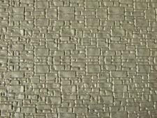 Muro per modellismo effetto pietra lavica 1:87- HO cm.22X13 - Krea 3008