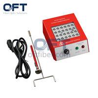 24 Port Fiber Optic Epoxy Curing Oven Fiber Polishing Oven Patch Cord Heat Oven