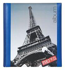 Large Interleaved Photoboard Photo Storage Album 60 Pages - Paris  Design