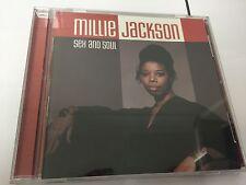 Millie Jackson - Sex & Soul CD  667487700528