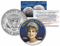PRINCESS DIANA 1961-1997 * 10th Anniversary * JFK Kennedy Half Dollar U.S. Coin