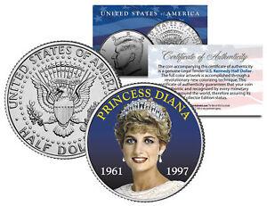 PRINCESS DIANA 1961-1997 * 10th Anniversary * JFK Kennedy Half Dollar U.S. Coin