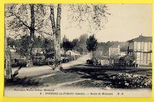 cpa FRANCE Old Postcard 40 - PONTENX les FORGES (Landes) Route de MIMIZAN
