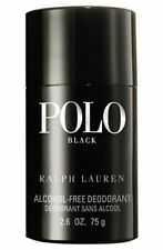 Polo Black By Ralph Lauren Men 2.6 oz 75 g Alcohol-Free Deodorant Stick Sealed