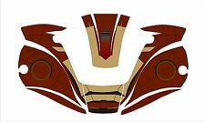 MILLER digital ELITE 257213 WELDING HELMET WRAP DECAL STICKER welder iron man