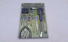 16 Pc Watch Repair Tool Kit Pin Strap Link Remover Back Case Opener Watchmaker
