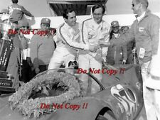 Lorenzo Bandini & Chris Amon Ferrari Winners Daytona 24 Hours 1967 Photograph 1
