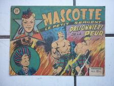 EDITION  SAGE / MASCOTTE / NUM  27  /  MARS   1950
