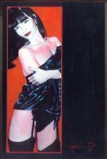 Modern Postcard: Glamour Art by Roy Leaning- Stockings, Panties, Suspenders, etc