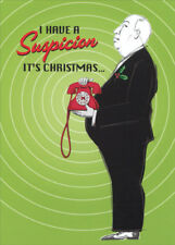Allport Editions Dial M for Merry Box of 15 Funny Christmas Cards