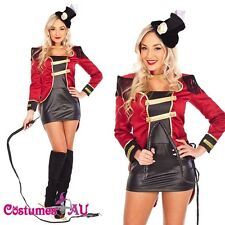 Ringmaster Circus Lion Tamer Showgirl Fancy Dress Halloween Costume Outfit Hat  sc 1 st  eBay & Lion Tamer Costume | eBay